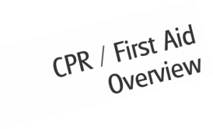 CPR / First aid for lifeguards